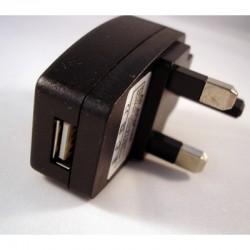 USB UK Mains Charger 500mAh