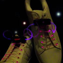 LED Shoe Laces Light Up Laces Dancing Laser