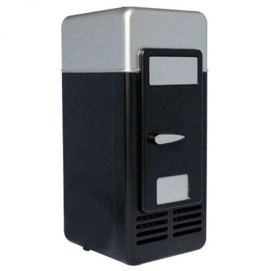 Mini USB Fridge Refrigerator Drink Cans Food Cooler