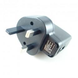 USB 5V 1A UK Mains Charger Plug 3 Pin