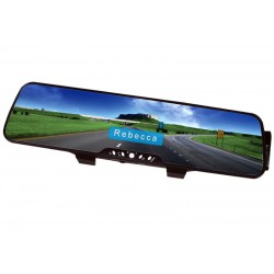 VIVIFI Bluetooth Rear View Mirror Hands Free Car Kit