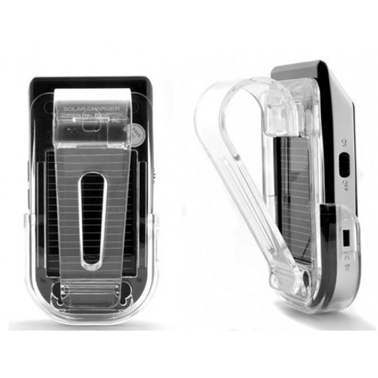 Solar Powered Re-chargeable Bluetooth Handsfree Car Kit