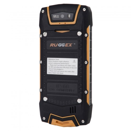 HuntFox 3G Rugged Smartphone with Keypad PTT and Torch + Dual Sim