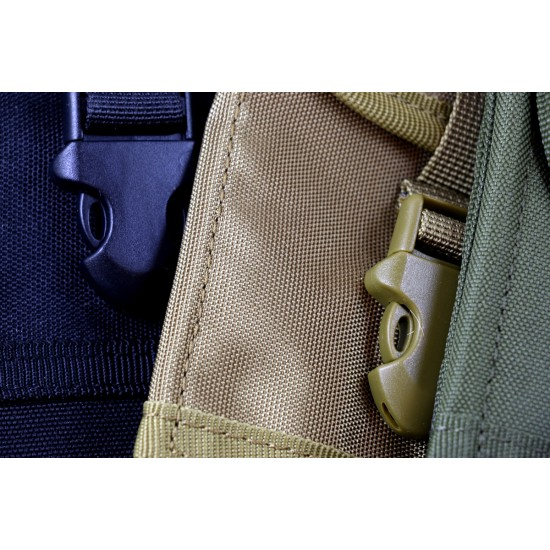 Heavy Duty Rugged Canvas Belt Clip Case Pouch for Rugged Phones Large