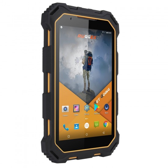 RUGGEX Palm 4G Rugged Android Tough Tablet IP68 Waterproof & Dustproof