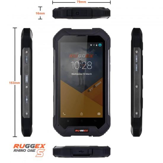 RUGGEX Rhino-1-S Rugged Smartphone