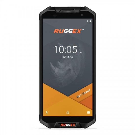 Ruggex Rhino Quest 4G LTE Rugged Smartphone IP68 Tough & Durable