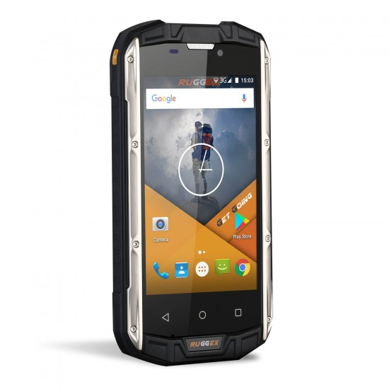 RUGGEX Rhino 4 Rugged SmartPhone IP68 Dust & Waterproof 4G LTE Tough Phone
