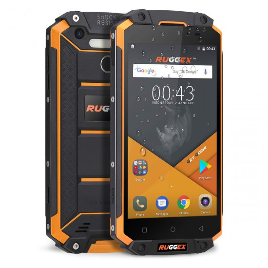 Ruggex Rhino XL 4G LTE Rugged Smartphone IP68 Tough & Durable