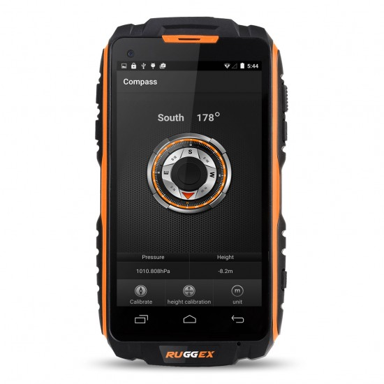 4G LTE Rugged Smartphone IP68 Waterproof Tough Durable NFC 3500 mAh Battery