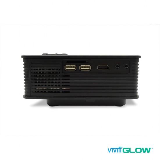 VIVIFI Glow LCD LED Home Cinema Projector HDMI HD