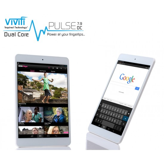 "VIVIFI Pulse 7.9DC Android 7.9"" Inch Tablet PAD UPAD Mini PC 8GB Ex-Display"
